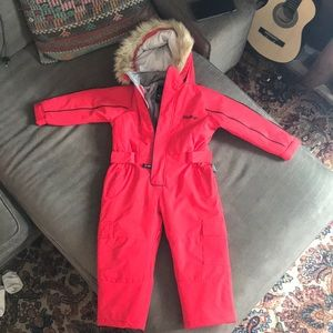 Kids snowsuit 3/4t